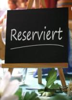 Tischreservierung in der Starzel-Stuben